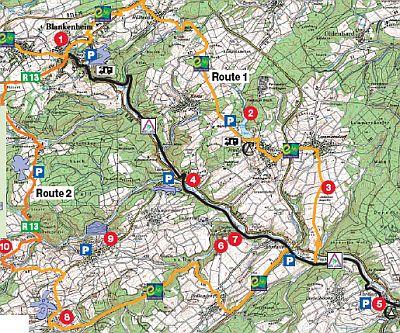 Ahrtal-Radweg - Routenvorschlag 1, Nordeifel (geeignet fü ...